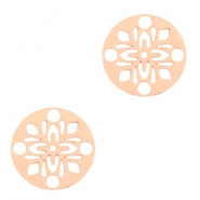 Hangers bohemian rond 14mm Rosegold