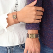 Inspiratiesets His and hers! DQ leer armbanden